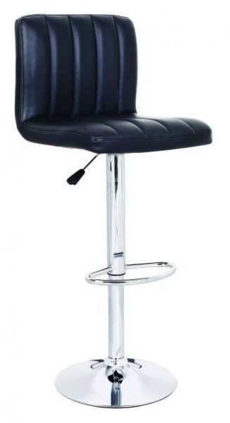 Barski stol Hot II črn