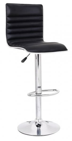 Barski stol Line črn