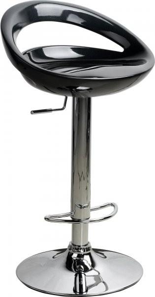 Barski stol Bibi črn