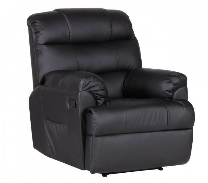 Počivalnik Komfort črn