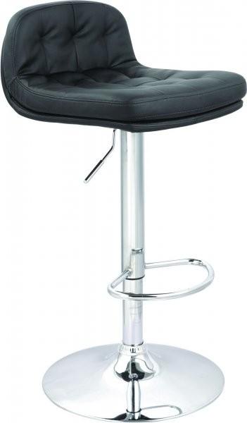 Barski stol Sport črn