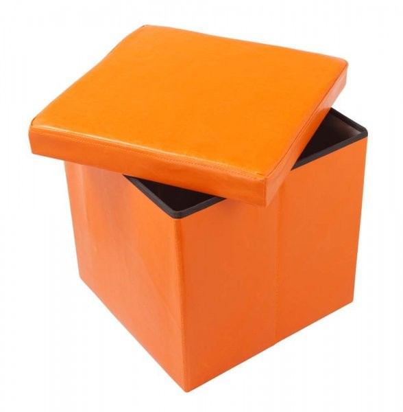 Tabure Oto PU oranžen