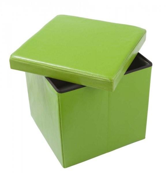 Tabure Oto PU zelen