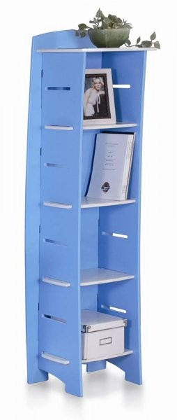 Omara 1,2,3 Shelf modra/bela