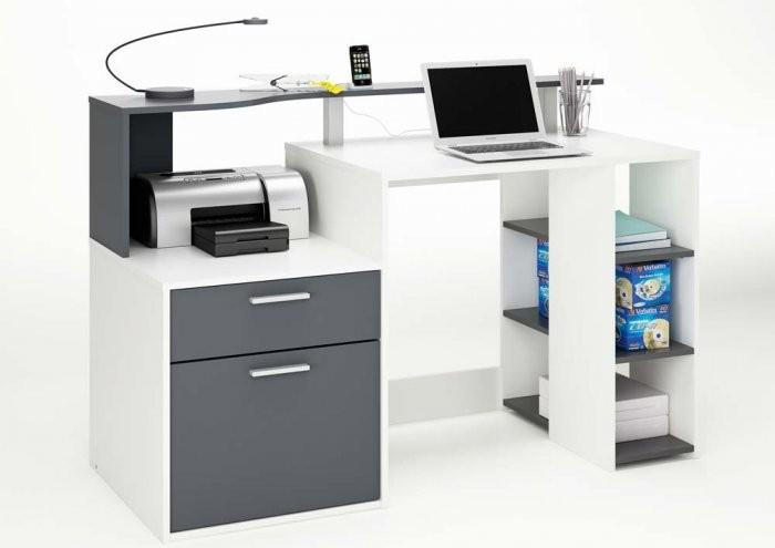 Računalniška miza Oracle siva