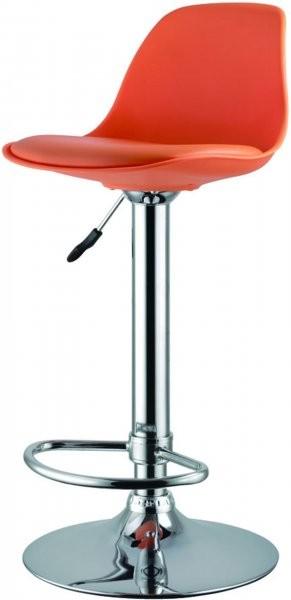 Barski stol Perio II oranžen