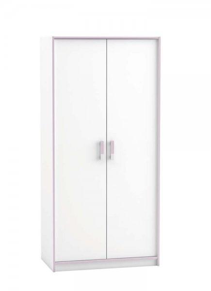 Garderobna omara Switch 2D bela
