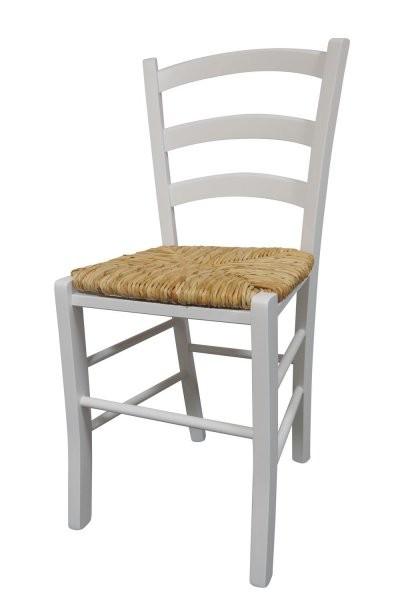 Stol Paesana bel - pleteno sedišče
