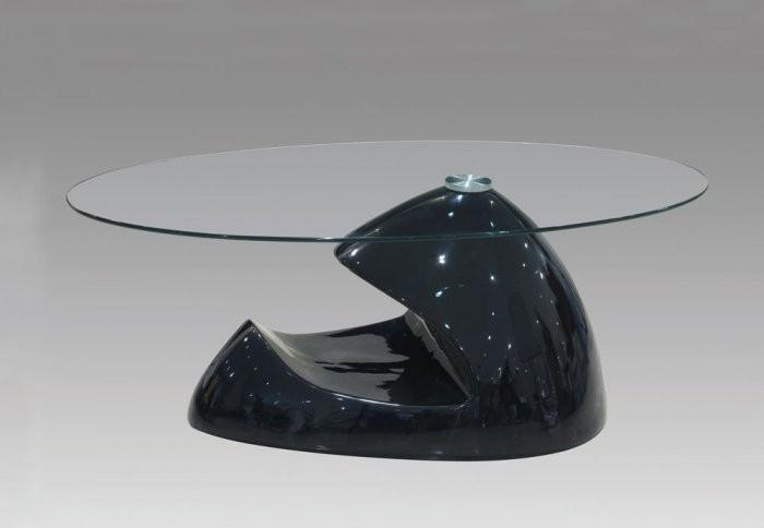 Klubska miza Tinja črna
