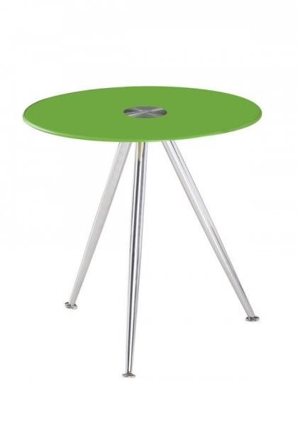 Klubska miza Karlos - zelena