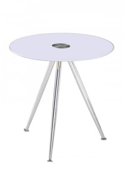 Klubska miza Karlos - bela