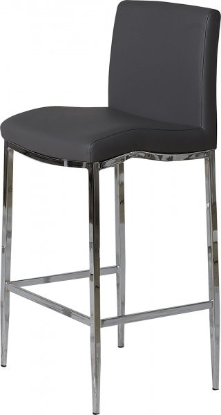 Barski stol Aurora siv