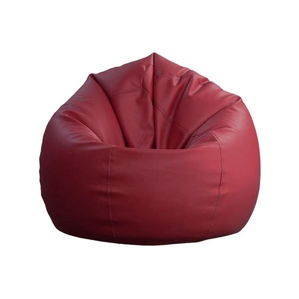 Sedalna vreča Lazy bag mala bordo rdeca