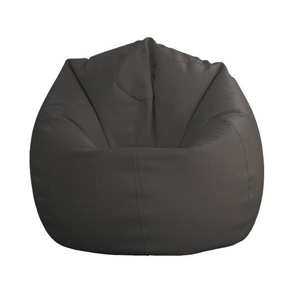 Sedalna vreča Lazy bag mala temno siva
