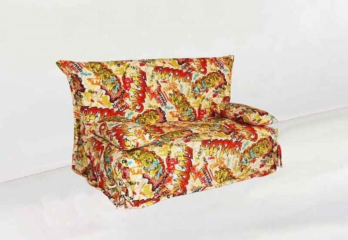 Kavč z ležiščem SMS 120 cm