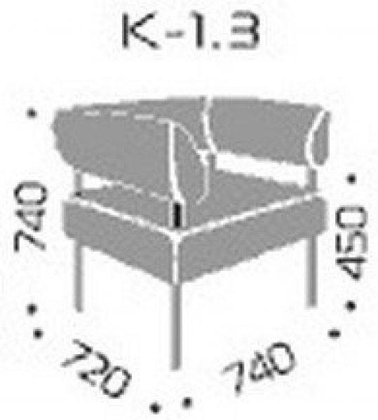 Fotelj Kvadro 1.3