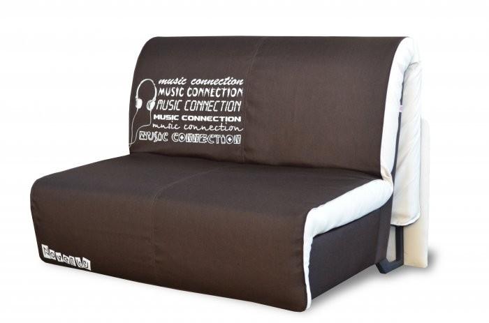 Kavč z ležiščem Elegant 140 cm glasba