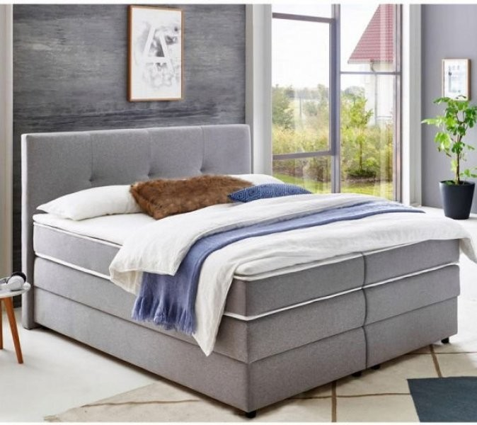 Boxspring postelja Merlin 160x200