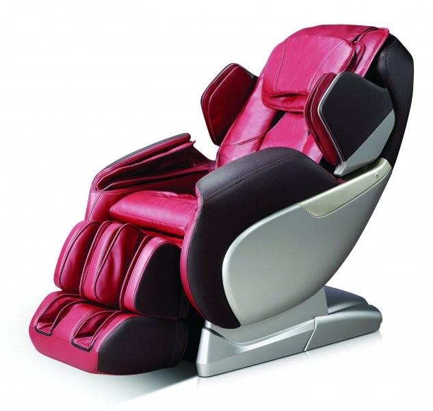Masažni profesionalni fotelj Dioniz rdeč