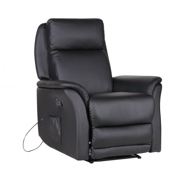 Vibracijski počivalnik Miami črn