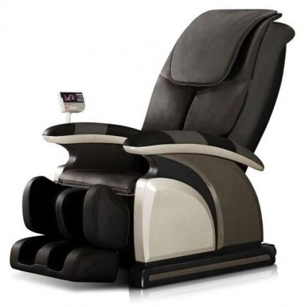 Profesionalni masažni fotelj Descent črn