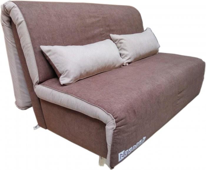 Kavč z ležiščem Novelty 160 cm temno rjav - akcija