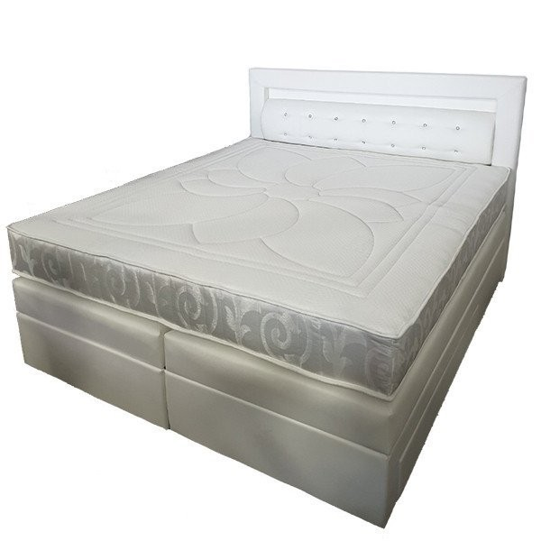 Boxspring postelja Led 180x200