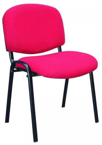 Konferenčni stol ISO rdeč