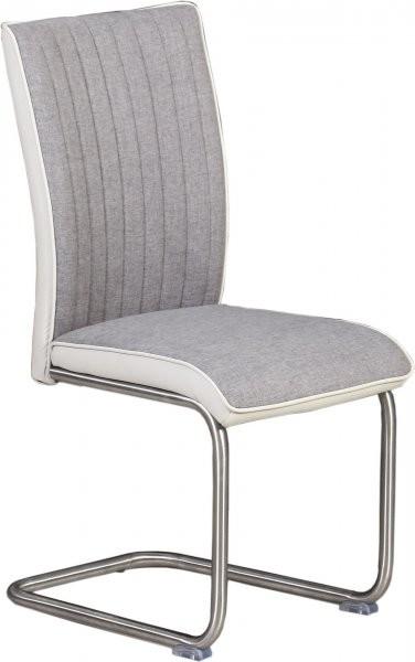 Stol Amico siv + bel