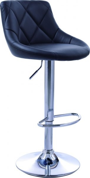 Barski stol Robin II Črn