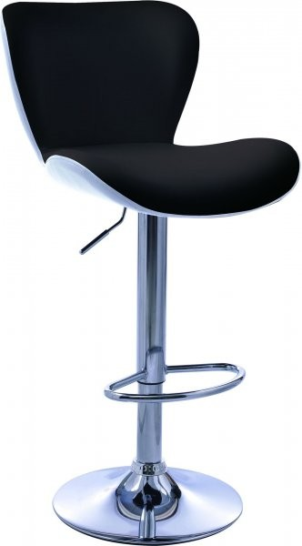 Barski stol Casper II črn