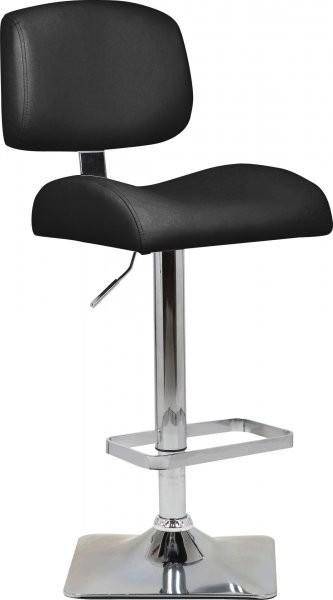 Barski stol Lary II črn