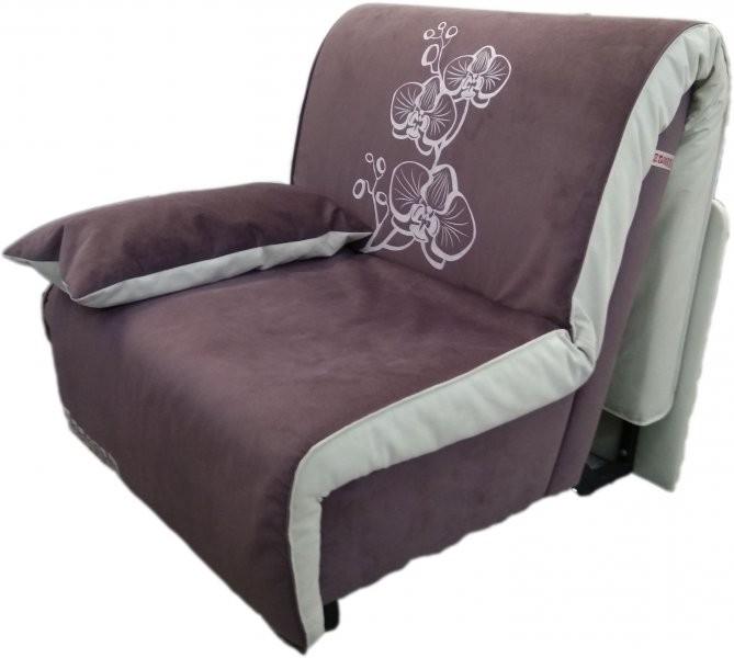 Fotelj z ležiščem Elegant rjav