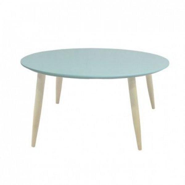 Klubska miza Manon svetlo zelena