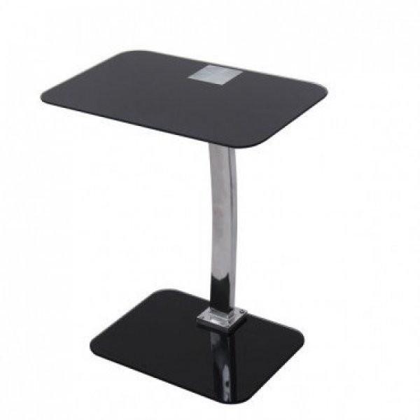 Klubska miza Dory črna