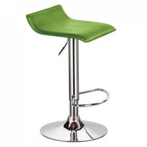 Barski stol Wave II zelen