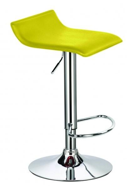 Barski stol Wave II rumen