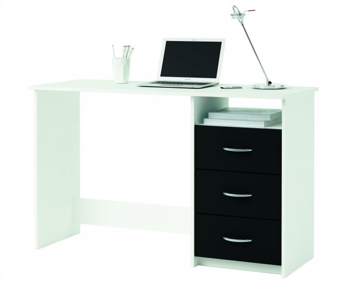 Računalniška miza Aristote črna
