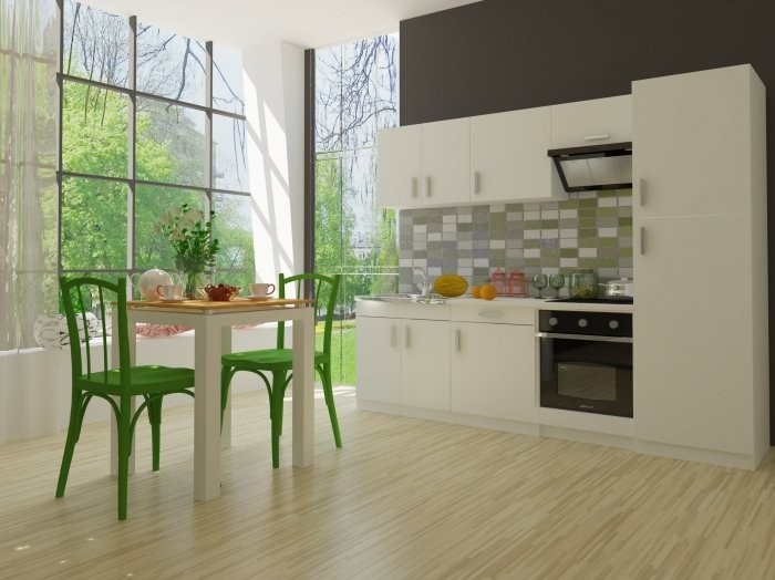 Kuhinjski blok Chia 260cm bela
