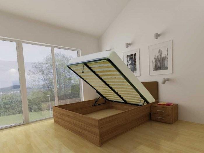 Dvižna postelja Lux - 90x200 cm