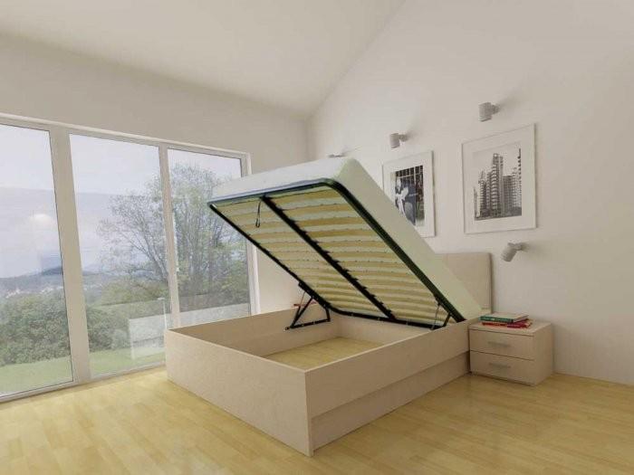 Dvižna postelja Lux - 120x200 cm