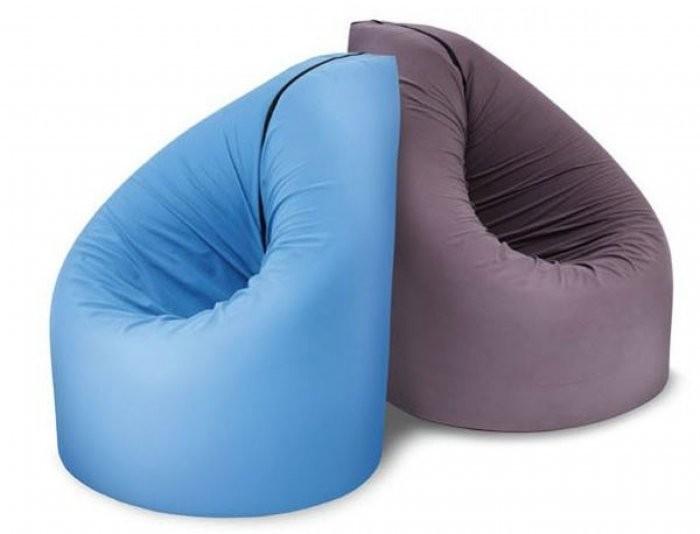 Sedalna vreča Paq Bed modra