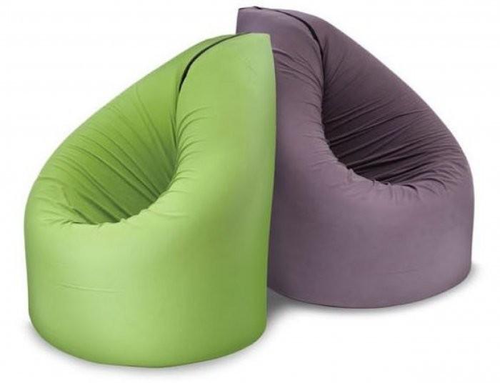 Sedalna vreča Paq Bed zelena