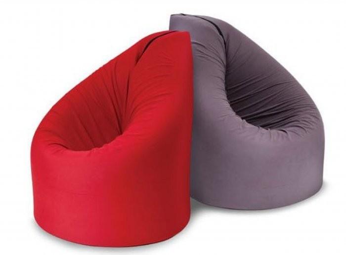 Sedalna vreča Paq Bed rdeča