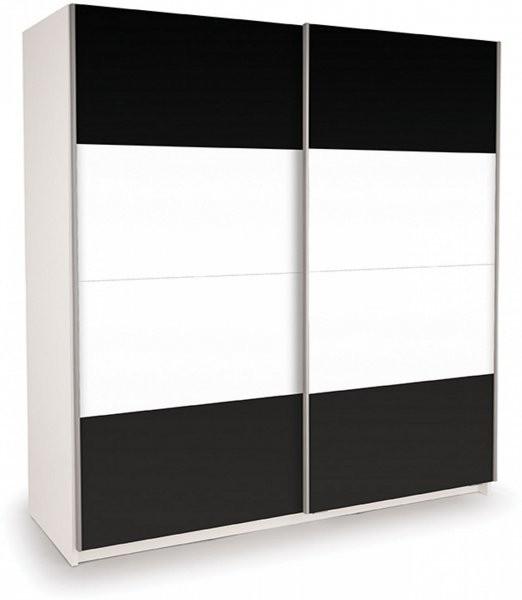 Garderobna omara ECO 200 Črna