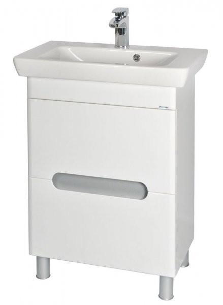 Omarica z umivalnikom Boston - 65 cm talna