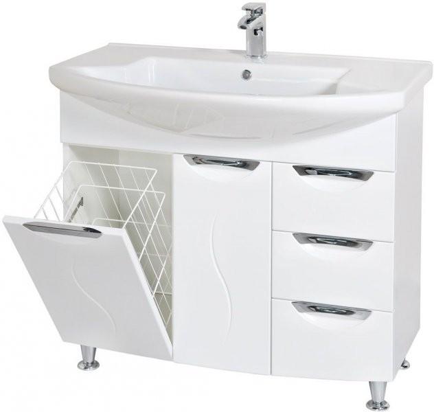 Omarica z umivalnikom Gloria - 90 cm talna