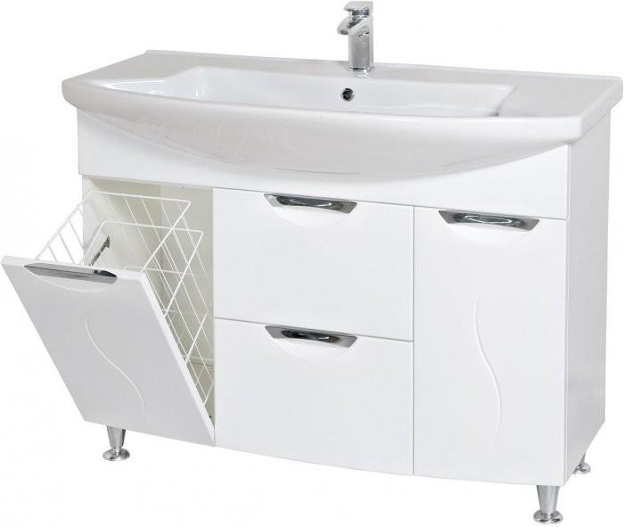Omarica z umivalnikom Gloria - 110 cm talna