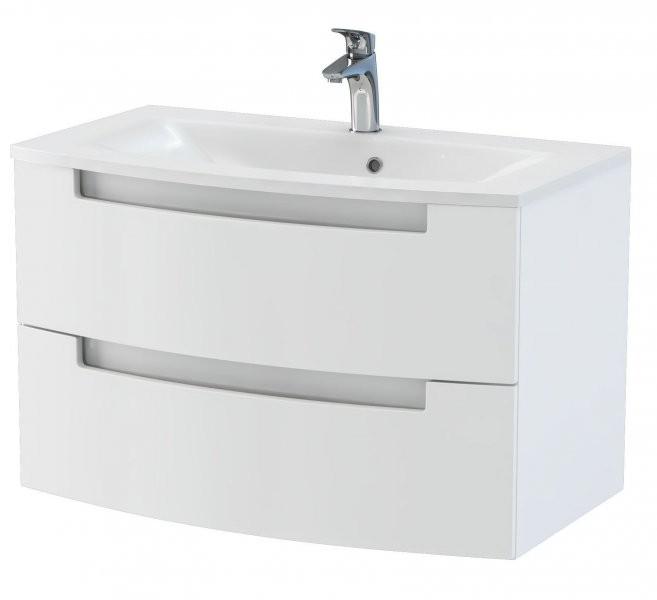 Omarica z umivalnikom Headway - 80 cm stenska