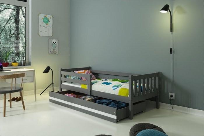 Otroška postelja Carino graphite